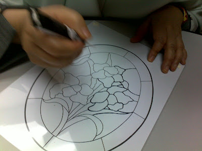 flower designs for glass painting. my glass painting designs