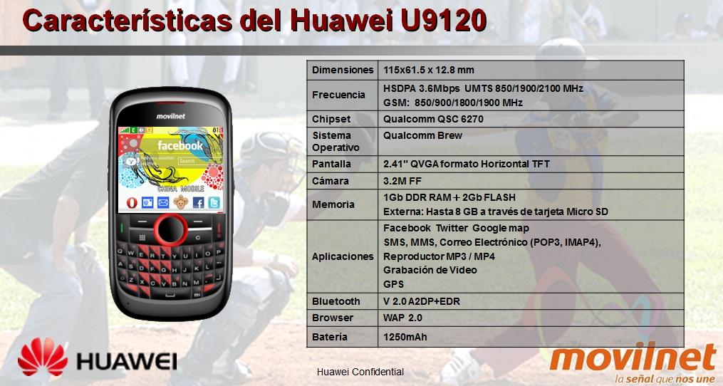Aplicaciones Juegos y Utiidades Gratis Huawei U9120