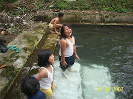 jika mandi di desa
