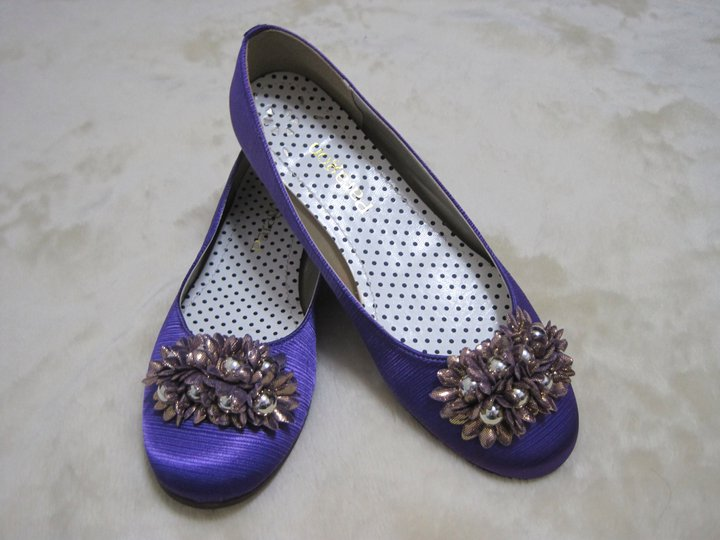 My Life As Purple Doll Shoes for 18