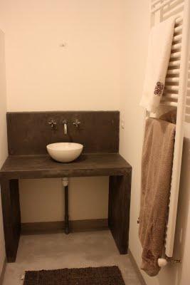 Entreprise de ma onnerie salle de bain beton cir - Entreprise salle de bain ...
