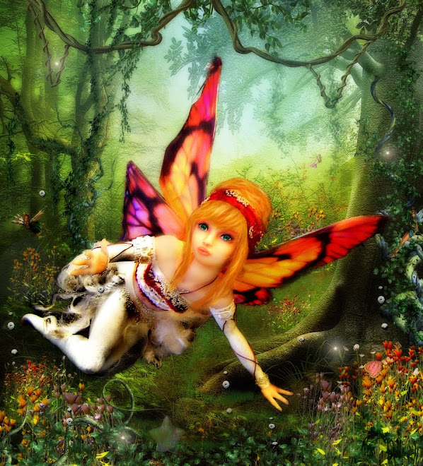 Fairytale art made by Liz from my doll