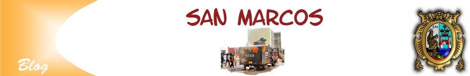 Sucedio en San Marcos