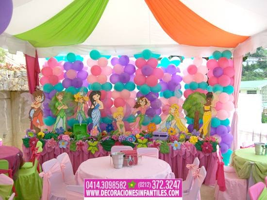 Eventos y decoraciones infantiles fiestas infantiles con - Decoracion fiestas infantiles en casa ...