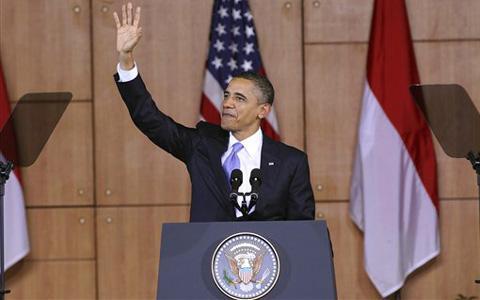 PRESIDEN BARRACK OBAMA KE INDONESIA