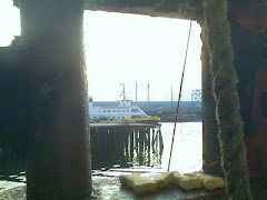 a view through the winch