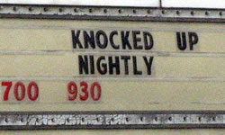 Knocked Up Nightly