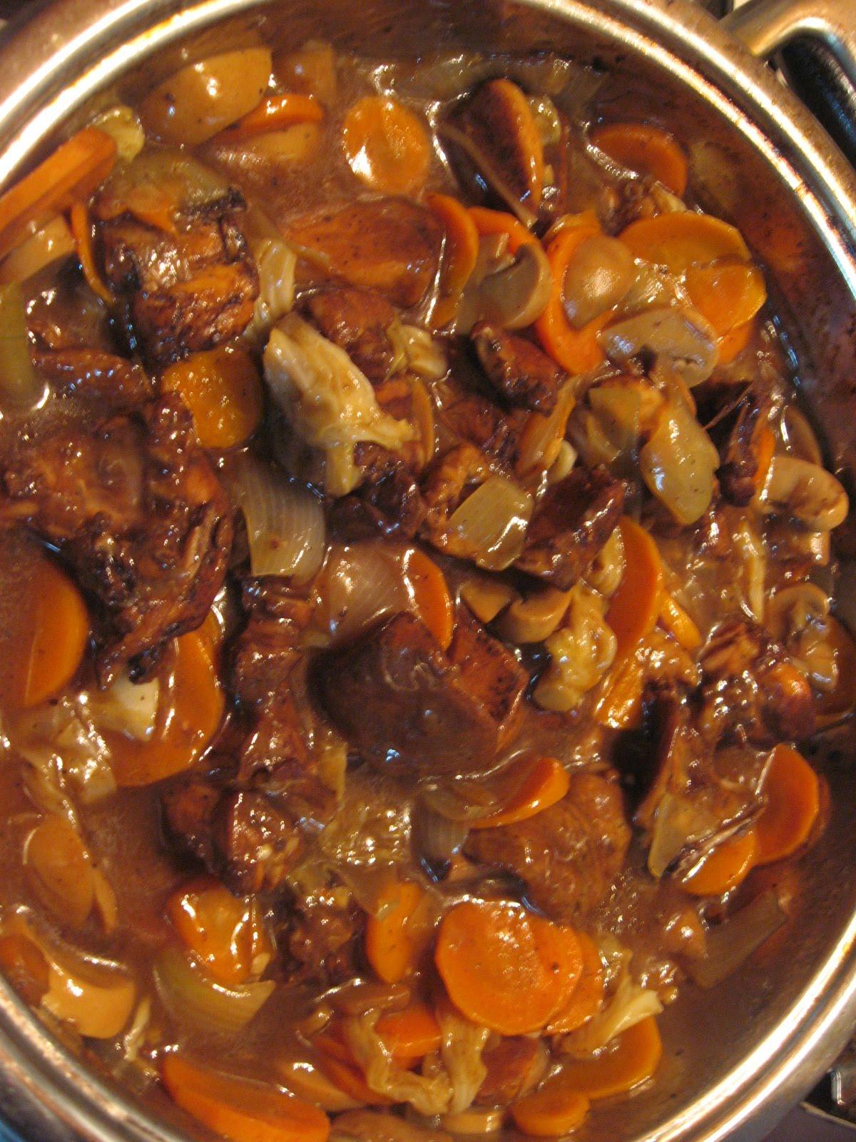 Recettes mauriciennes et d 39 ailleurs chop suey de poulet - Cuisine mauricienne chinoise ...