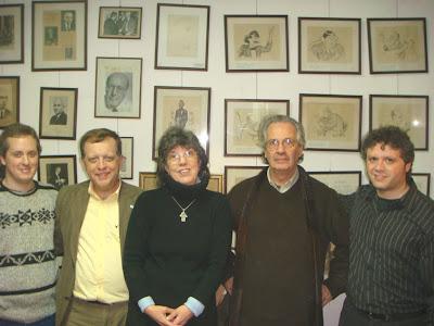 Con Carlos Trillo Premio a la Trayectoria 2009