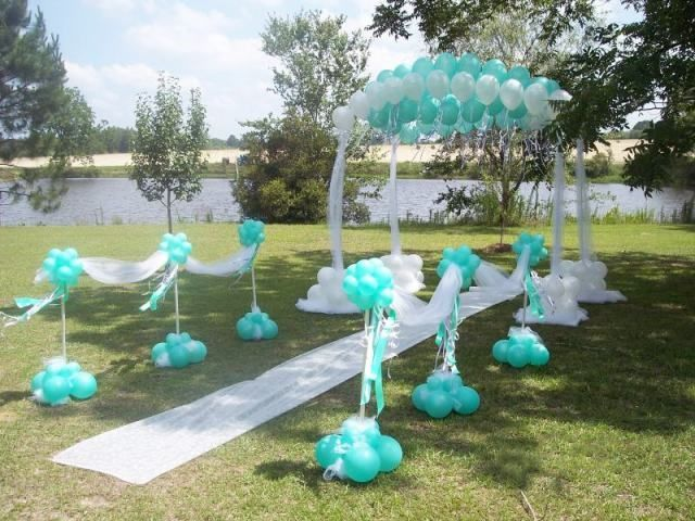 Regina natie we laugh smile love solemnization 9 for Balloon decoration ideas without helium