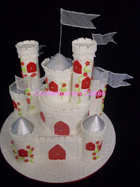 Fairytale Castle Wedding Cake Sat 10th April