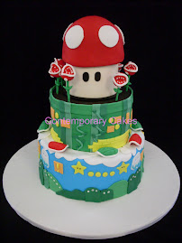 Super Mario Cake Sat 10th April