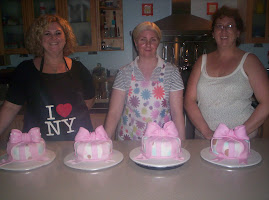 Birthday bow cake workshop group