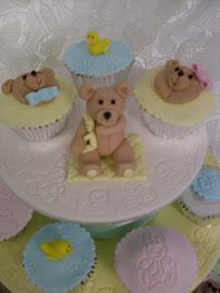 Christening/baby shower cupcake class
