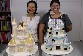 Intermediate 1. Fairytale Castle Cake workshop