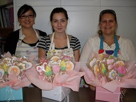 Beginners 4 Cookie bouquet workshop