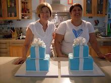 Intermediate 2 day Tiffany cake workshop.