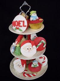 Christmas cupcake workshop