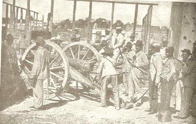 Artilleria en la Puerta del Conde