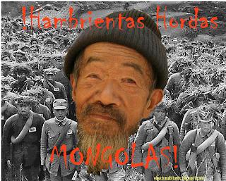 Hambrientas Hordas Mongolas