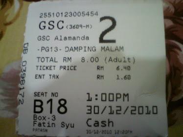 ticket??