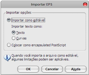 Abrir Eps no CorelDRAW - Passo 2