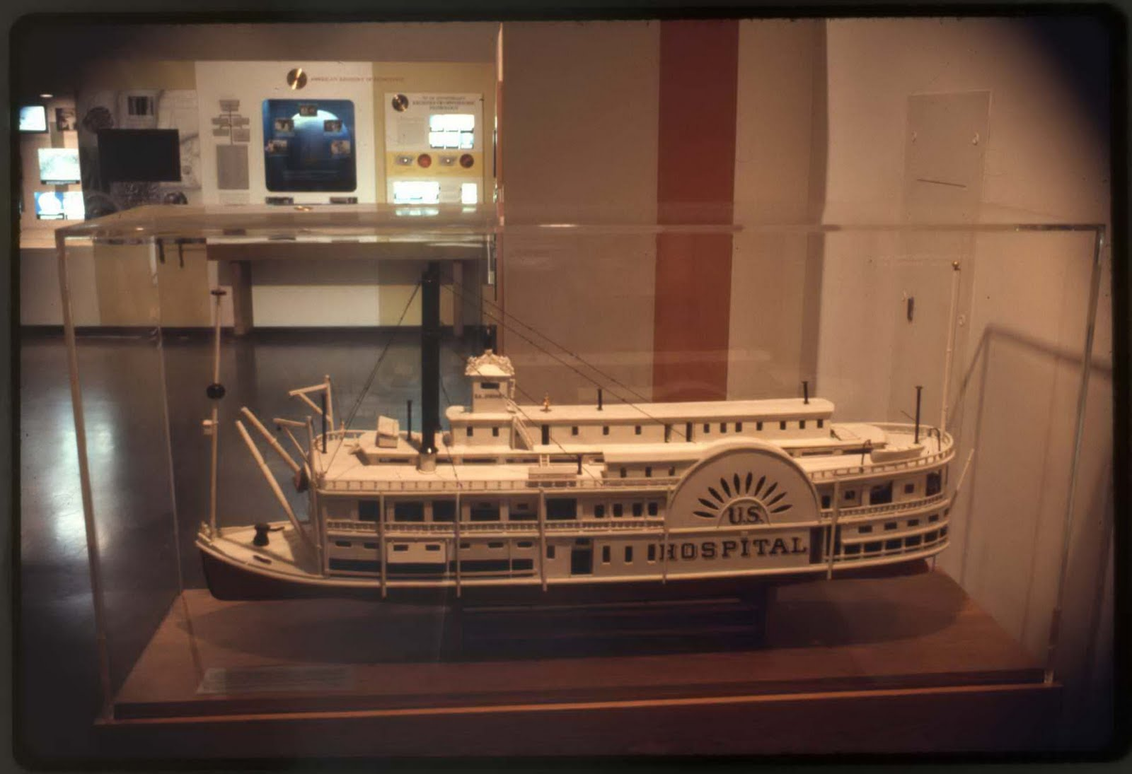 A Repository For Bottled Monsters US Hospital Ship The - Ship museums in us