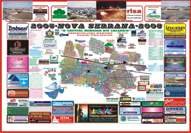 Planta Cartográfica Oficial Nova Serrana