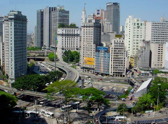 """*  São Paulo """" A Megalópole do Hemisfério Sul""""  *"""