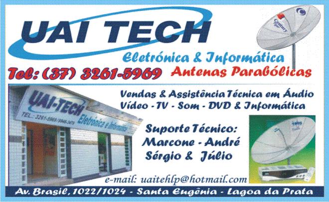 **  Uai Tech - Antenas Parabólicas  **