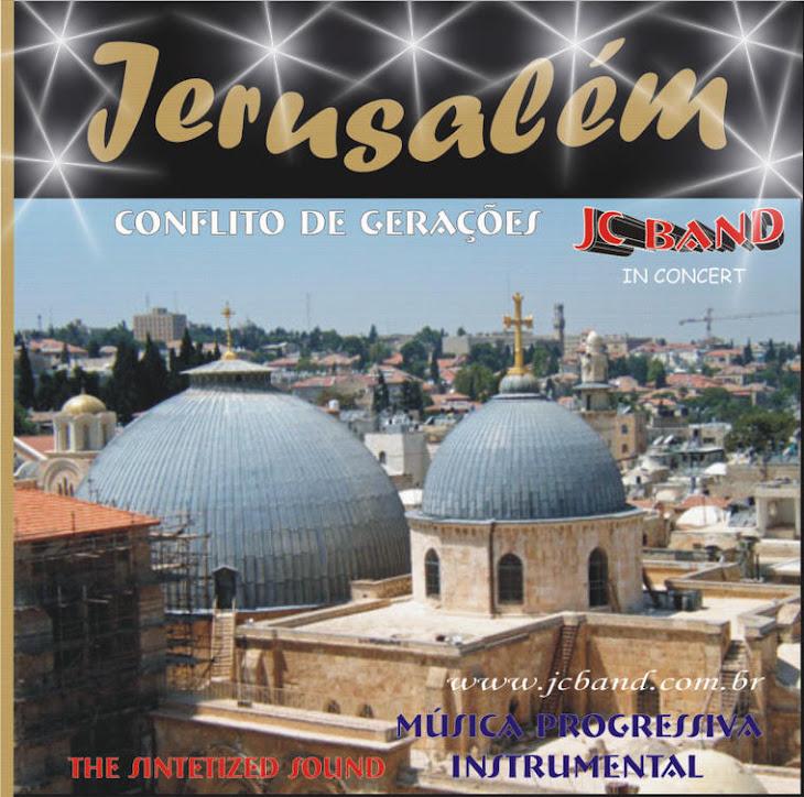 Jerusalém Capa de Cd de JC.