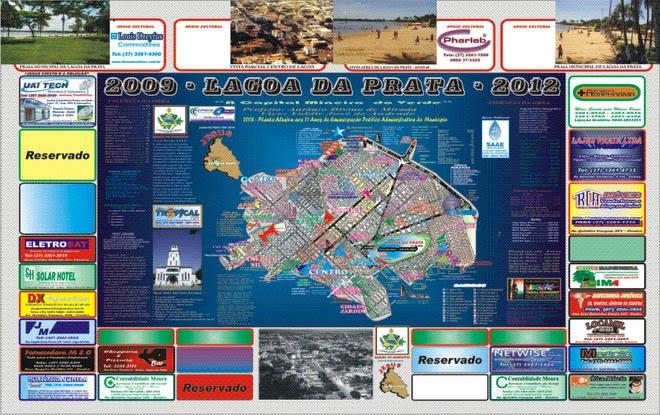 Planta Cartográfica Oficial de Lagoa da Prata