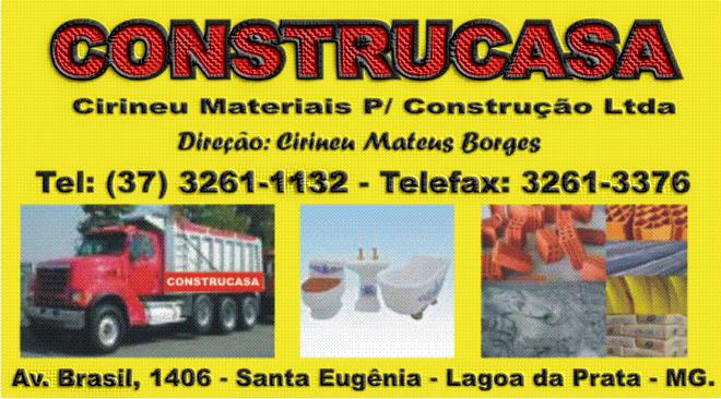 ***  Construcasa - Materiais de Construção  ***