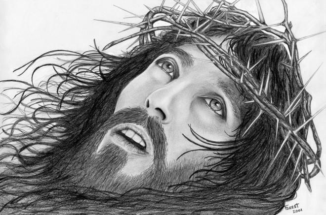 **  Cristo Jesus Coroado de Espinhos  ***