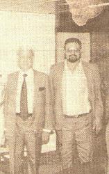 GUILLERMO MORÓN Y EDGARDO MALASPINA.CARACAS.1996