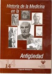 NRO 14.HISTORIA DE LA MEDICINA EN LA ANTIGUEDAD.