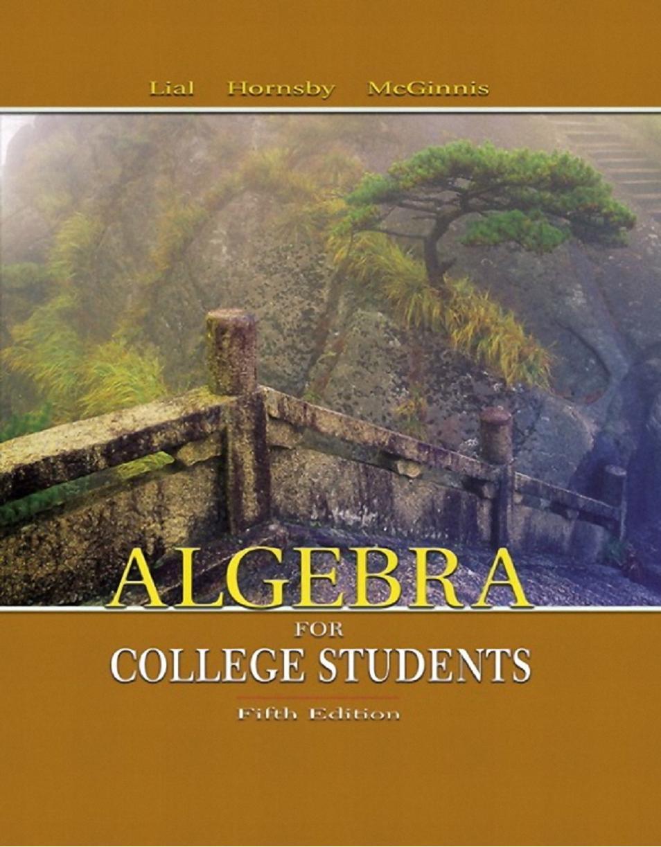 what i learned in college algebra
