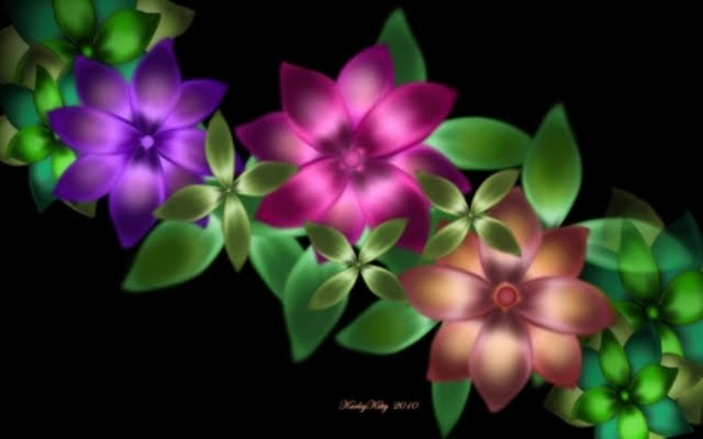 359094 - Digital Flowers