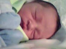 Esta gracinha é meu sobrinho Bernardo.