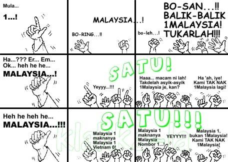 Bolasepak: Malaysia 1, bukan 1Malaysia! (football: Malaysia 1, not 1Malaysia!). klakka-la.blogspot