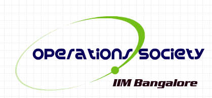 The Operations Society, IIM Bangalore