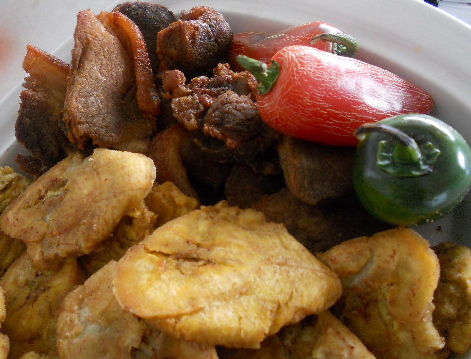 Haitian fried pork recipe