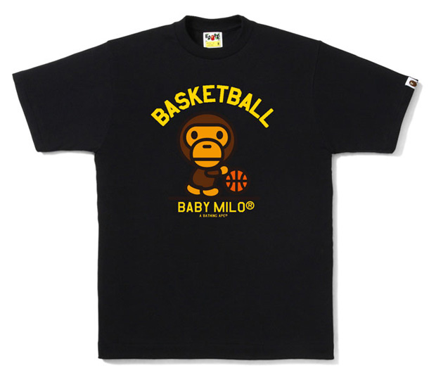 "CaN I LiVe??? CL: A Bathing Ape Baby Milo ""Go LA"" T-shirt"