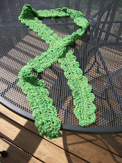 ONE SKEIN SCARF – SO PRETTY FOR SPRING · Crochet | CraftGossip.com