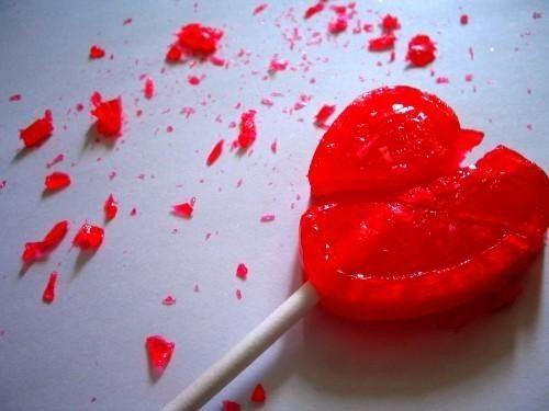 imagenes sentimentales de desamor frases tristes de  - Imagenes De Corazones Destrozados Por Amor