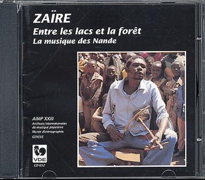 Zaire: Entre les lacs et la foret, La musique des Nande