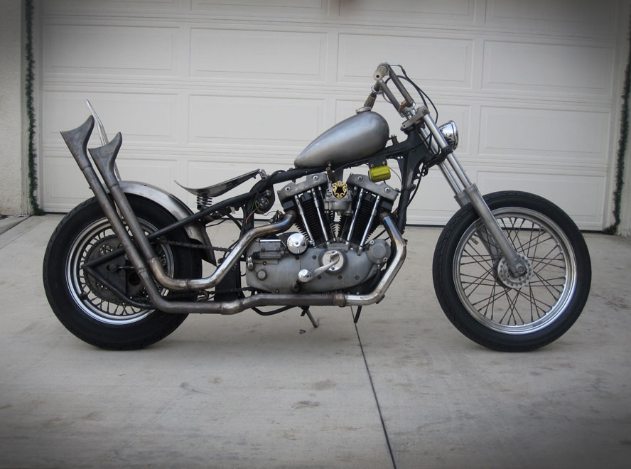 I Shot The 79 Ironhead That Kris Berang Of DePalma Clothing Put Together With Help Friends And Associates Will Post Pics From