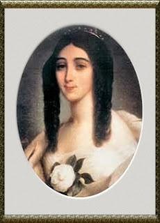 Marie Duplessis, pintura de Viènnot