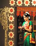 During the Doordarshan shoot of Padam