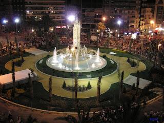 Alicante, Rutas por la ciudad  Inauguracion+luceros+2007